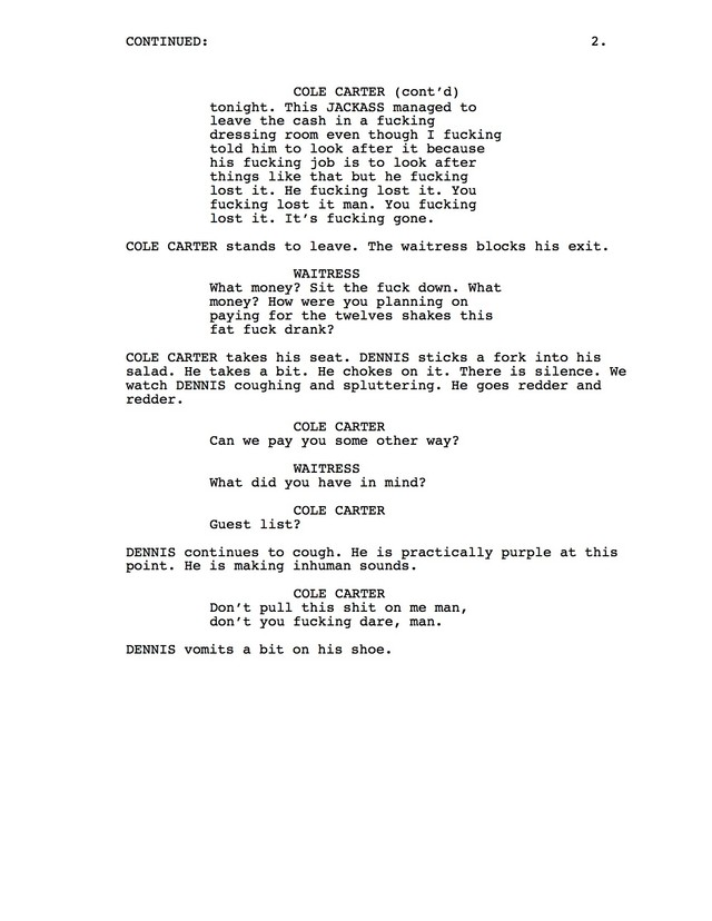 We Found Leaked Scripts For 'We Are Your Friends 2'—Set 35