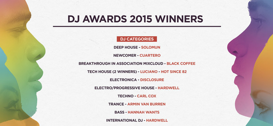 Last Night's DJ Awards Were a Monument to White