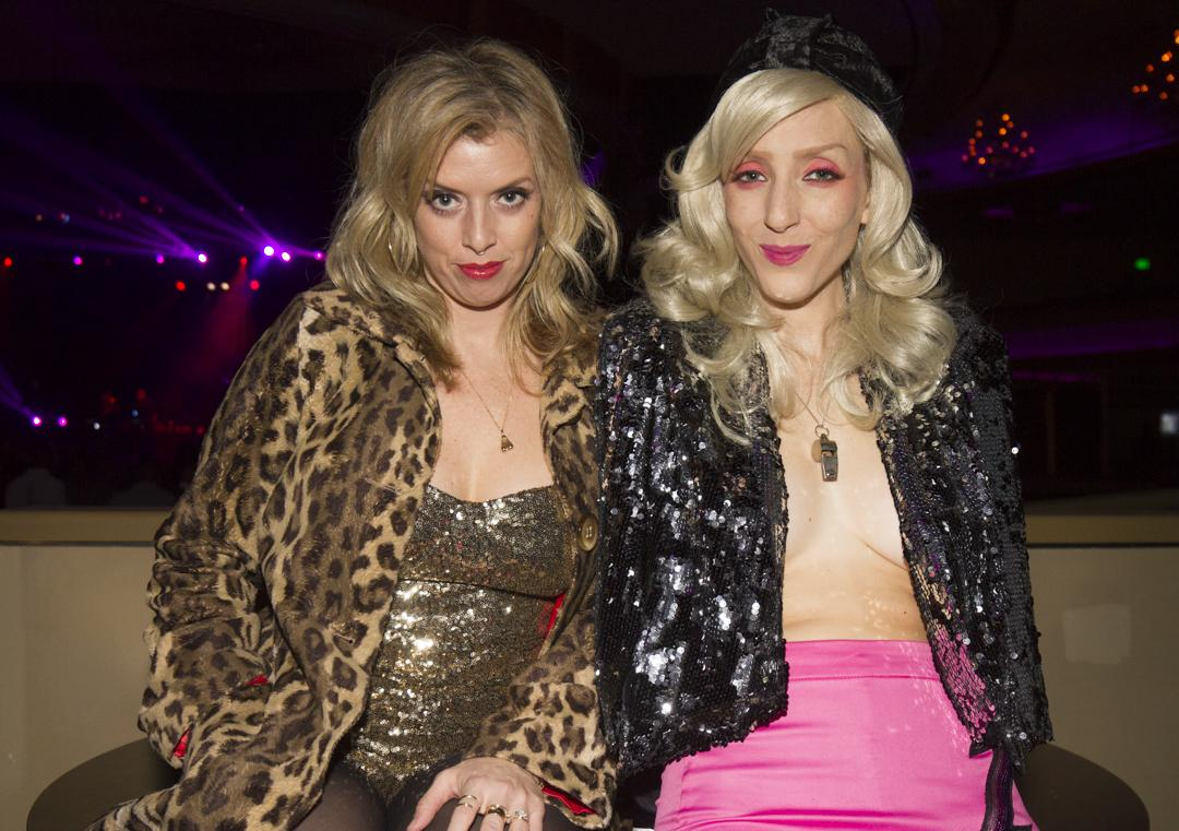 The retro clubbing craze hit hollywood this weekend with a ...