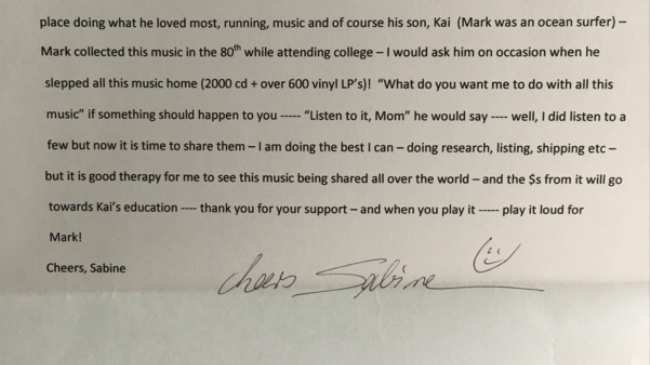 A Grieving Mother Left This Deeply Moving Note Inside a Secondhand