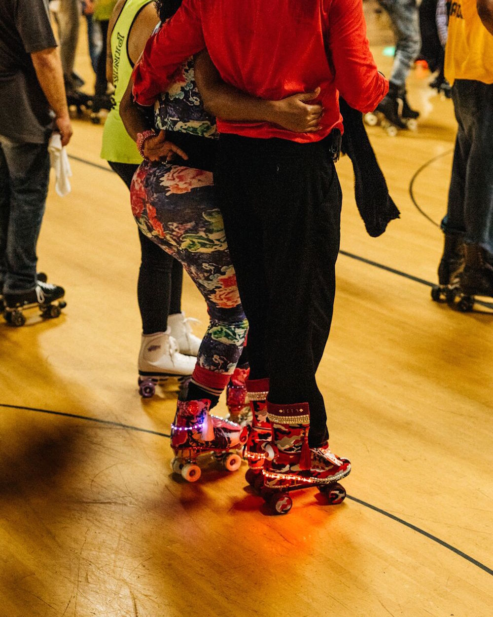 Roller skating rink philadelphia - Joe And When You Get Good You Don T Want To Do Anything Else But Teach Somebody It Just Keeps It Going