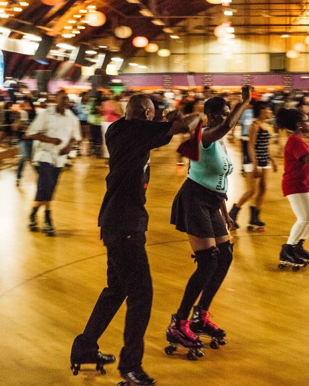 Roller skates dance - Joe And When You Get Good You Don T Want To Do Anything Else But Teach Somebody It Just Keeps It Going