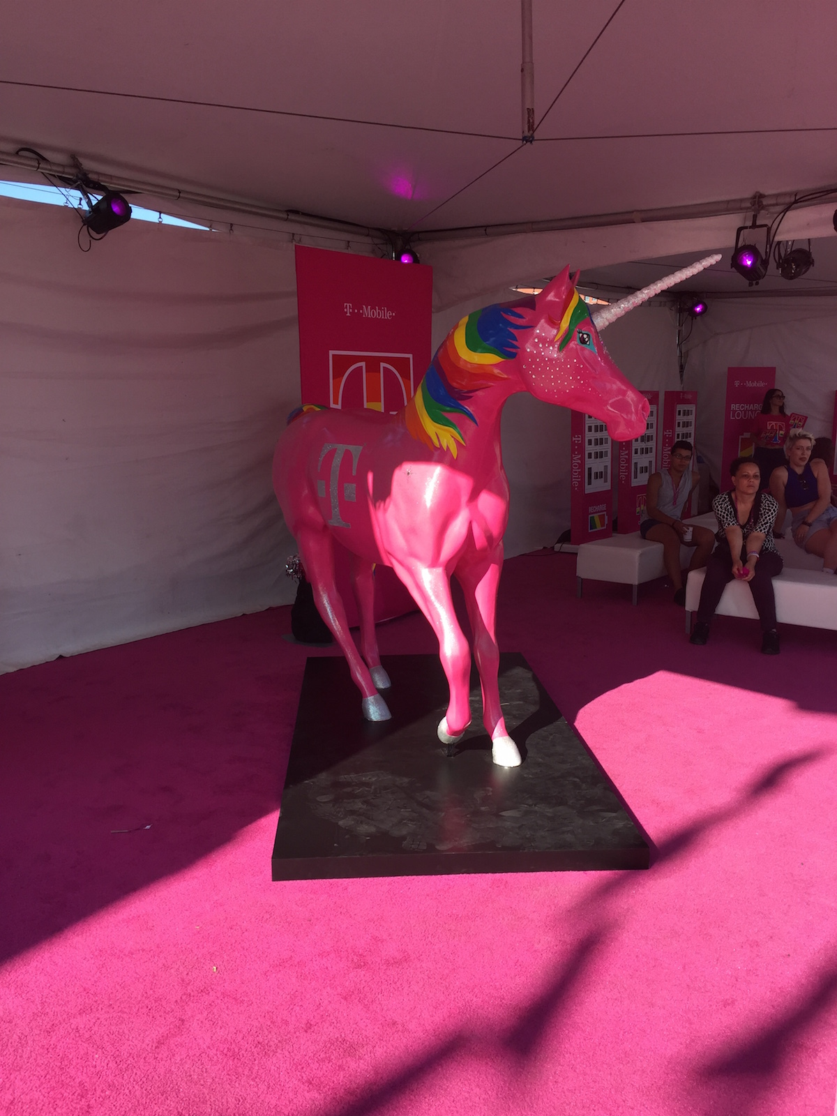 i went to a corporate pride event and it was complicated thump the t mobile unicorn