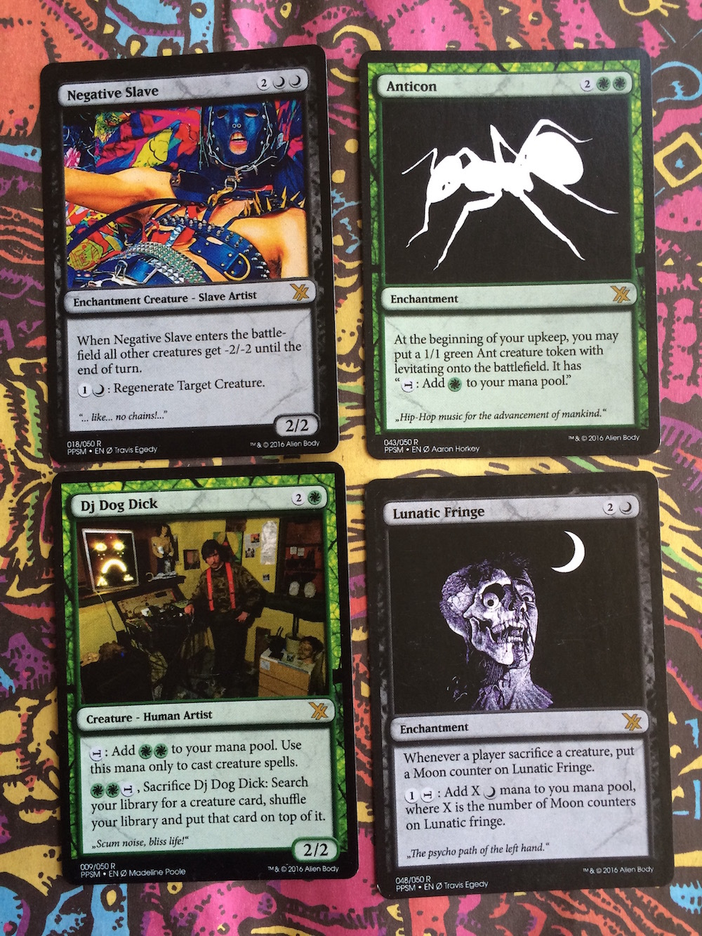 Would You Be Interested In Making A New Deck With Different Cards? I Would  Really