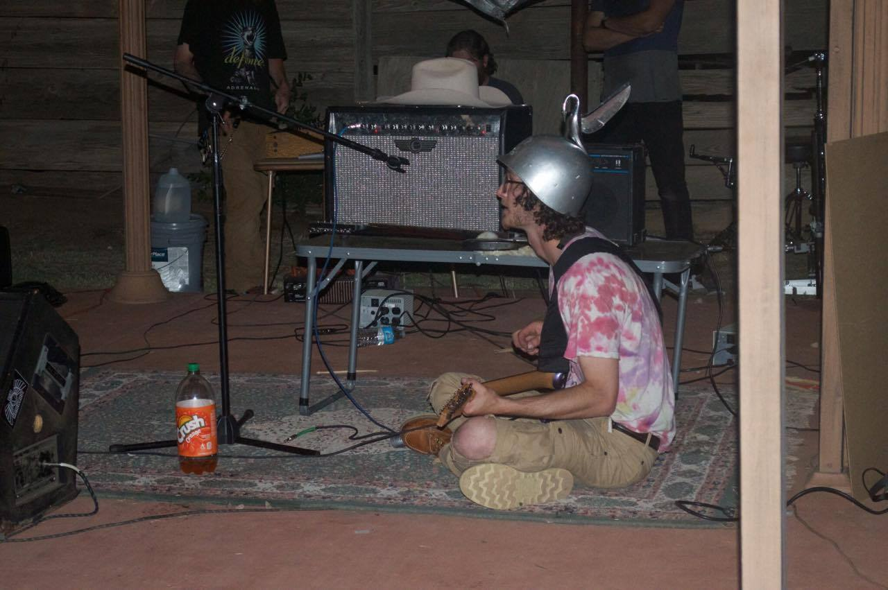 i battled cockroaches and cowboys to start the first noise band in i had always seen my bandmate stanton coldiron around at shows and he was actually really involved in the hardcore scene one day he posted on his facebook