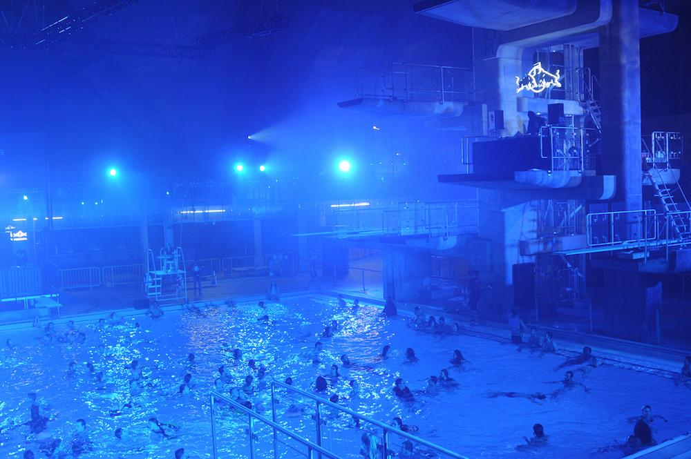 Red Bull Transformed an Olympic Pool into a Club - EDMTunes