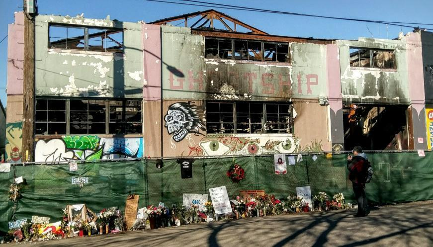 New Lawsuit Filed by Father  Ghost Ship Fire Victim