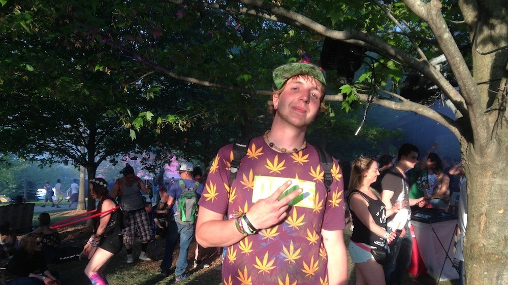 Everyone At Mysteryland Was Wearing Weed