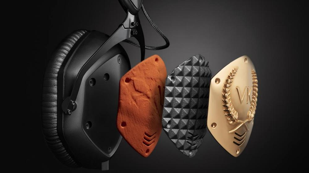how to change v moda ear pads