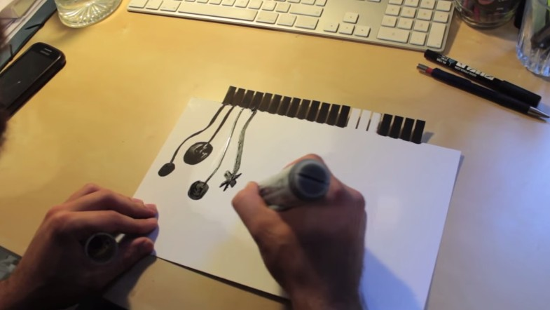 Welcome To The Future: You Can Draw Your Own Midi Controller
