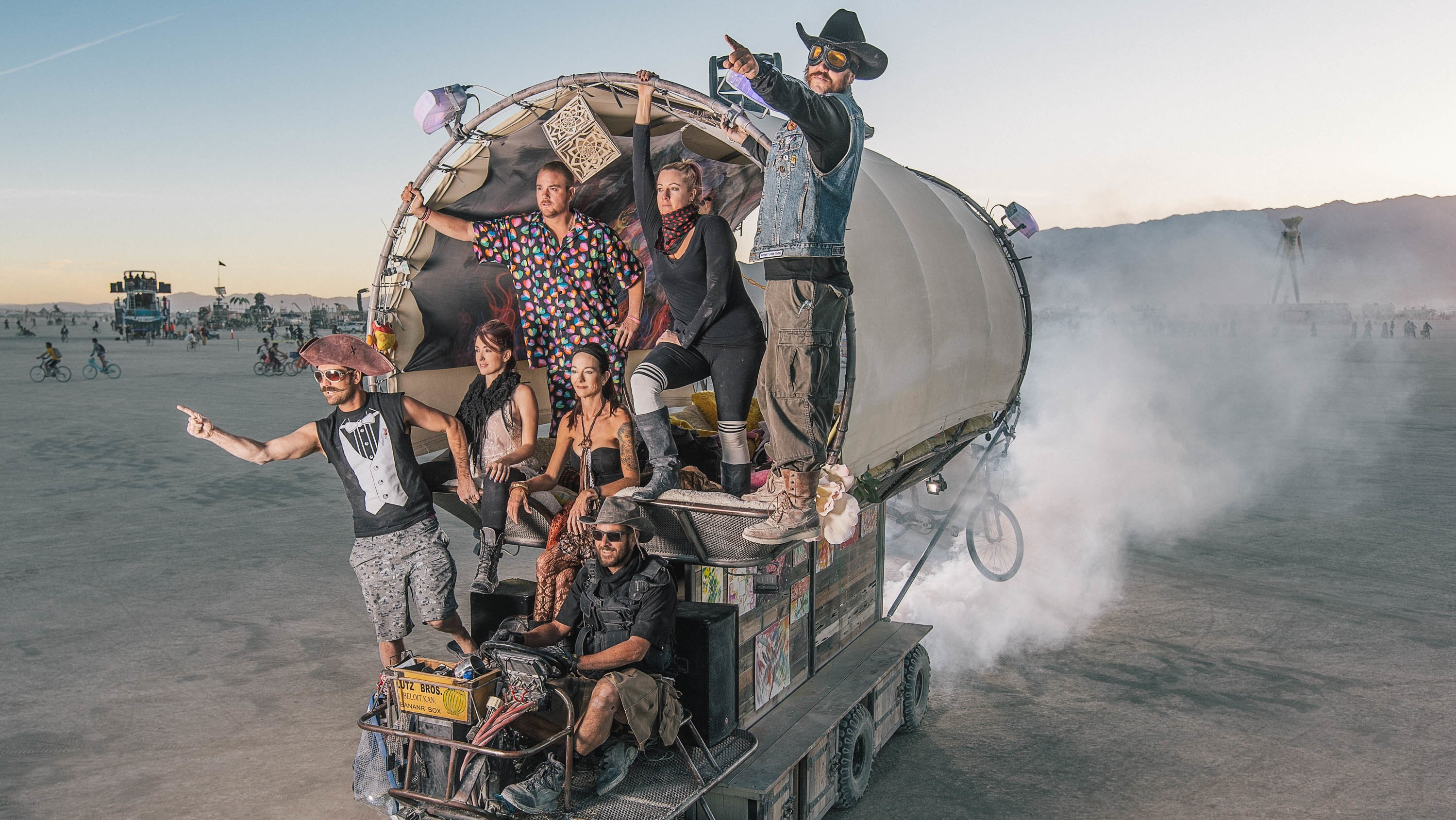 I Spent a Week Riding a Mutant Vehicle at Burning Man, and Here's What I Learned