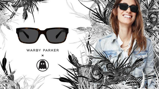 Ghostly Collaborated with Warby Parker Glasses to Cure Your Shitty Merch Blues