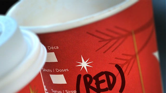 What's Your Starbucks Name? This World AIDS Day It's (RED)