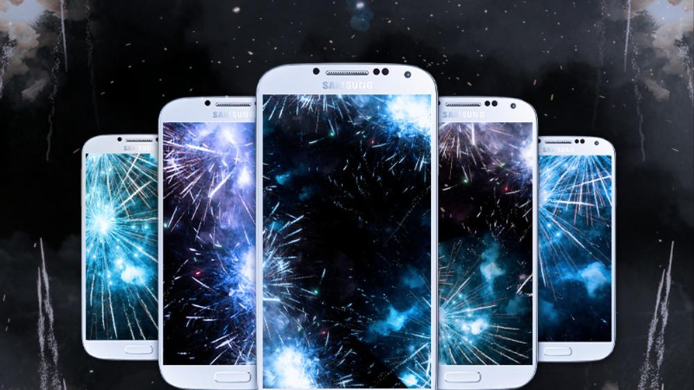 Win A Samsung Galaxy S 4 + Trigger Live Fireworks!