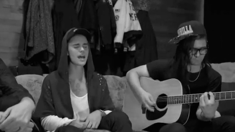Once Again, Bieber's New Collab with Skrillex Is Pretty Damn Good