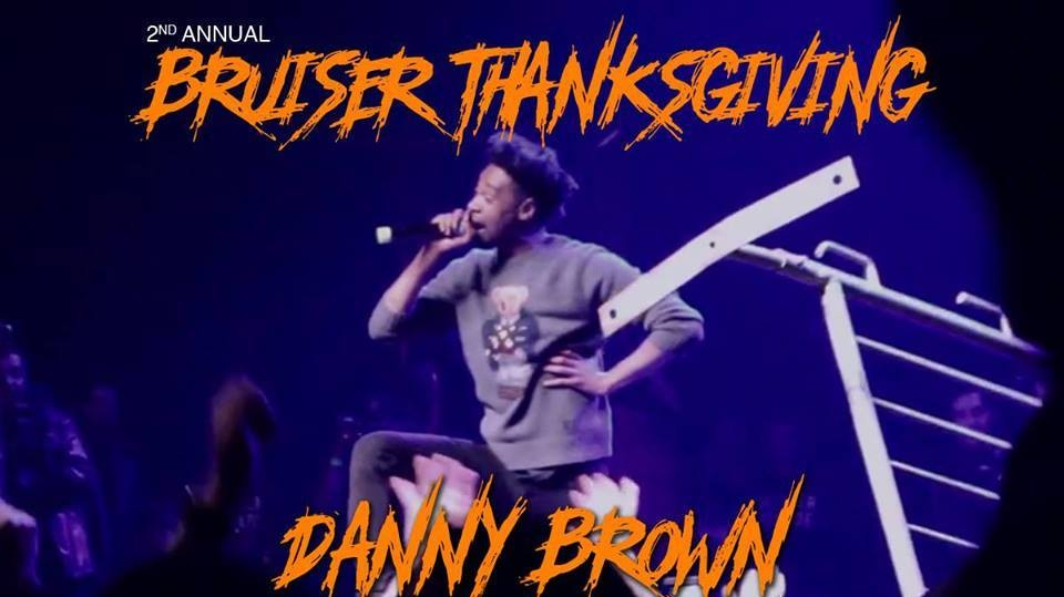 Detroit! Danny Brown's Second Bruiser Thanksgiving Featuring DJ Spinn and DJ Taye Is Tonight