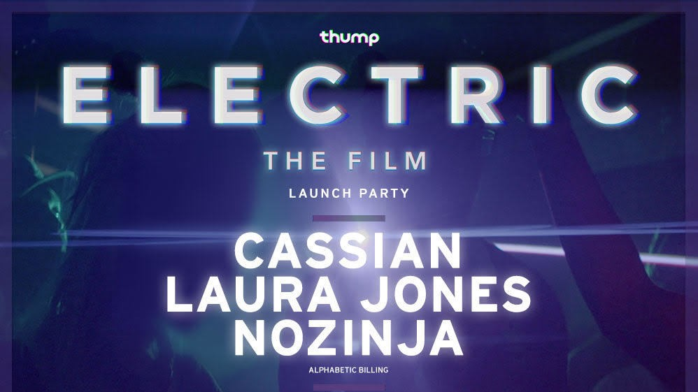 RSVP to Our Launch Party for 'Electric' at Verboten with Cassian, Laura Jones, and Nozinja