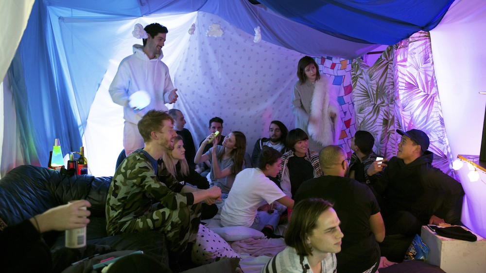 We Had an Awesome Sleepover With an Electronic Music Collective
