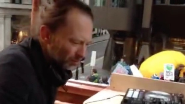 Thom Yorke DJ'd On a Greenpeace Float At London's March For the Climate