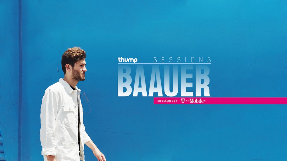Tune in to THUMP Sessions Today for a Special Live Stream with Baauer