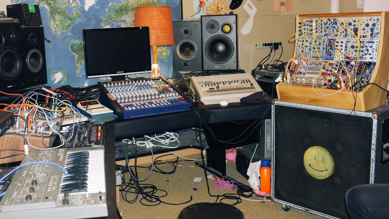 We Got an Exclusive Tour of MSTRKRFT's DIY Toronto Studio