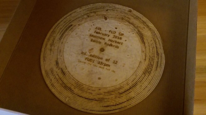 Matthew Herbert Made a Limited Edition Record Out of a Tortilla