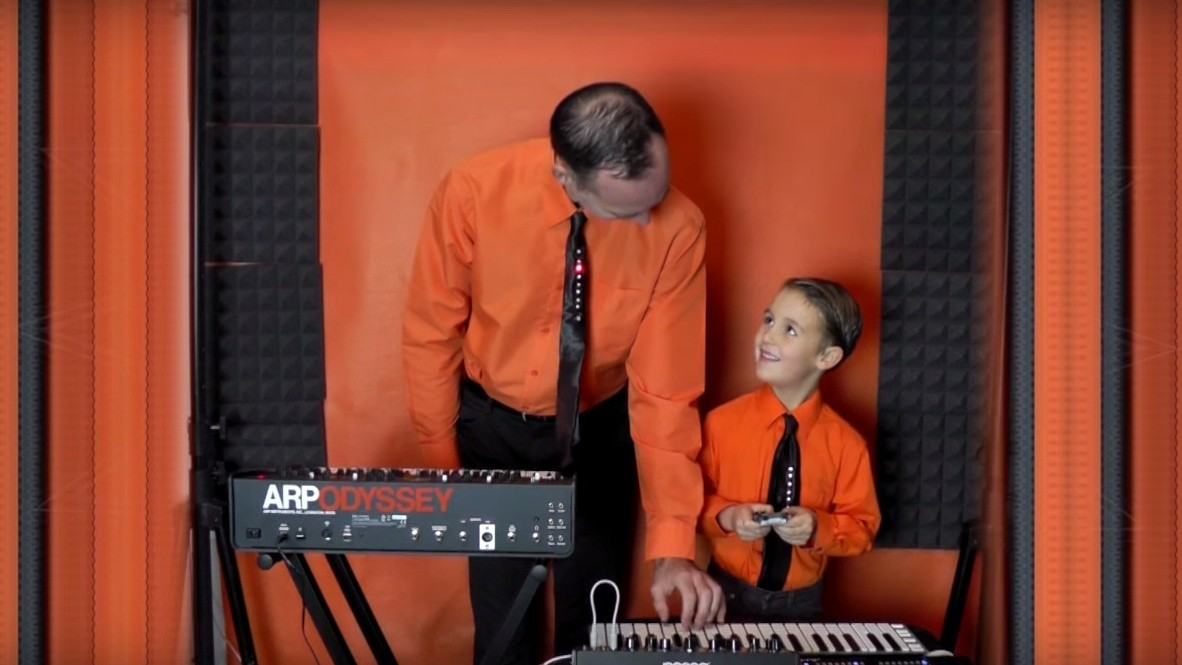 You'll Never Be as Cool as This Six-Year-Old Who Covers Kraftwerk With His Dad