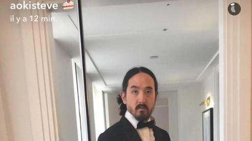 Steve Aoki Took A Bunch of Selfies at the White House Correspondents' Dinner