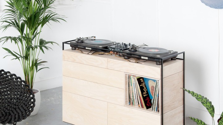 A Dutch Firm Has Designed One Swanky DJ Console