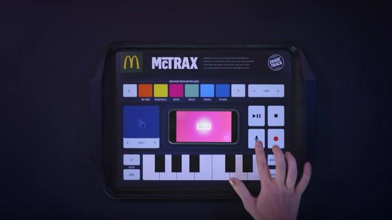 McDonald's Introduce Interactive Placemat Recording Studio, McTrax
