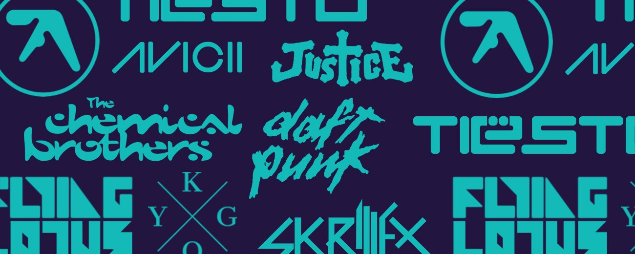 From Aphex Twin to Skrillex, Design Experts Rank Your Favourite DJs' Logos