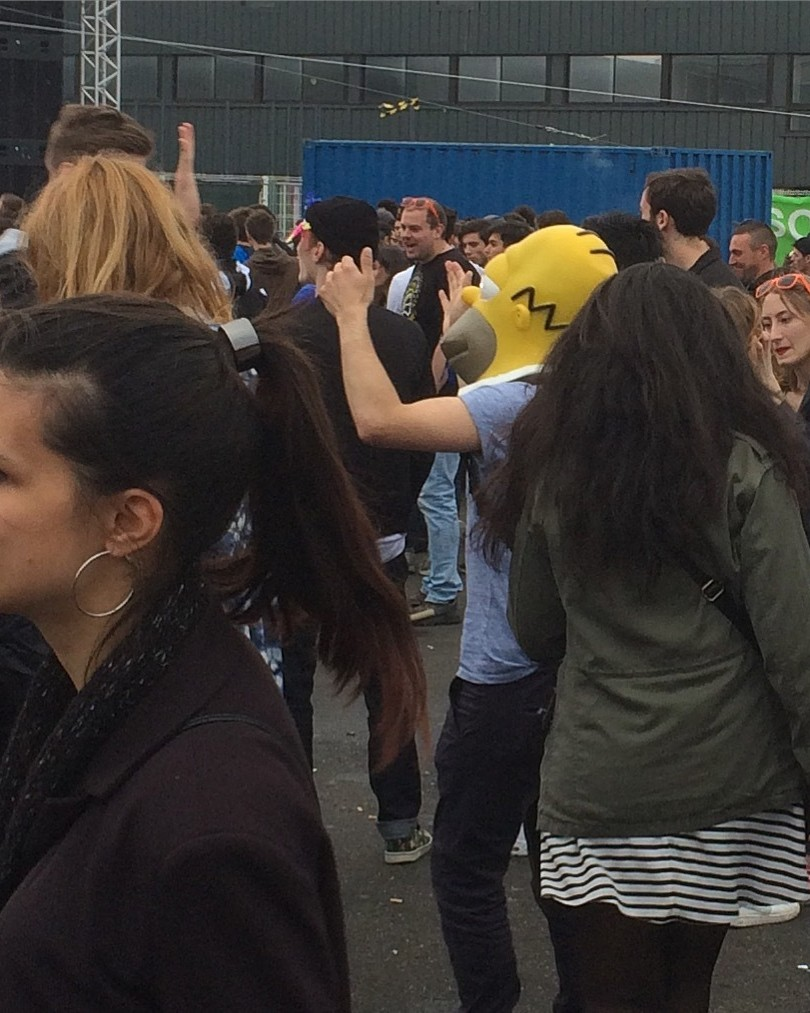10 Questions for the Bloke We Saw at a Festival Wearing a Homer Simpson Mask