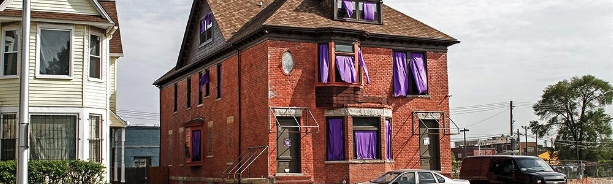 Zu Besuch bei Moodymann, der sein ganzes Haus in einen lila Prince ...