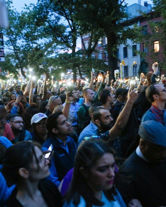 Photos: New Yorkers Pay Respect to Victims of The Orlando Shooting at The Stonewall Inn