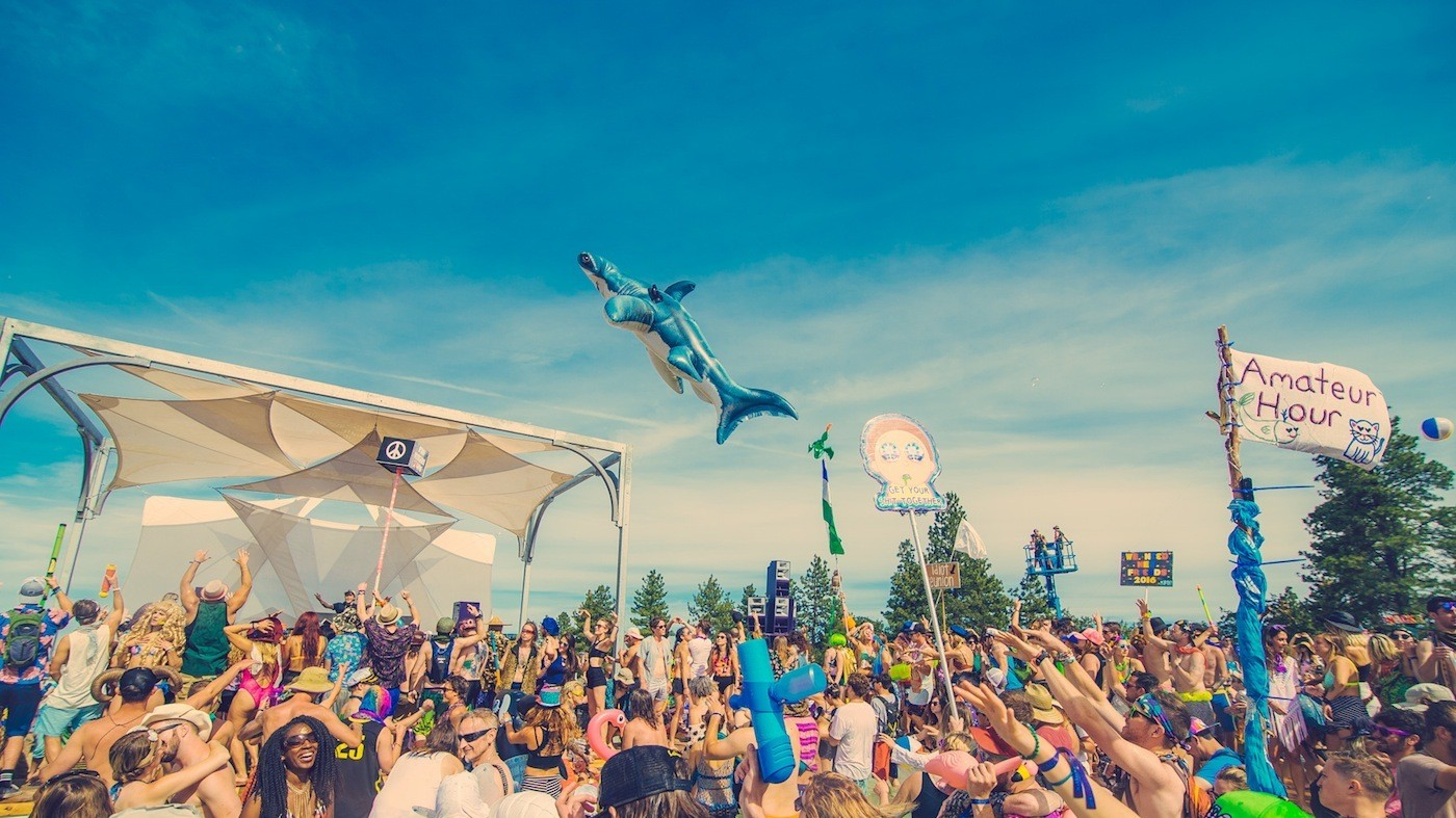 ​We Got Life Advice from Some Crazy Kids Raging in a Pool at What The Festival
