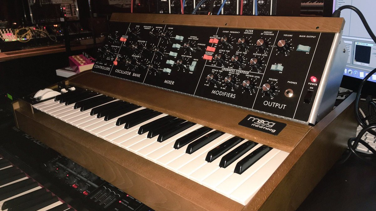 Trent Reznor Owns Moog's Rare New Minimoog Model D Synth
