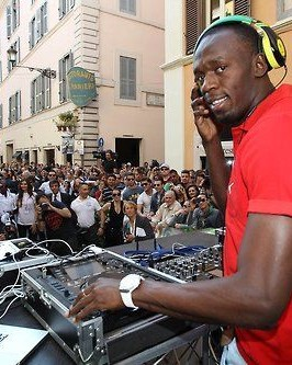 A Retrospective Look At Usain Bolt's Overlooked DJ Career