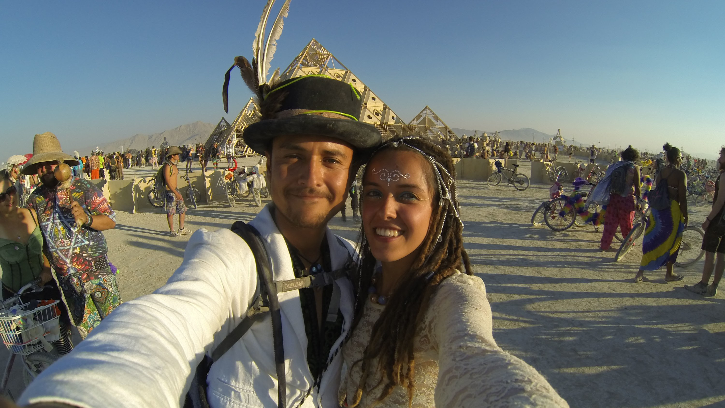 What It's Like to Get Married at Burning Man
