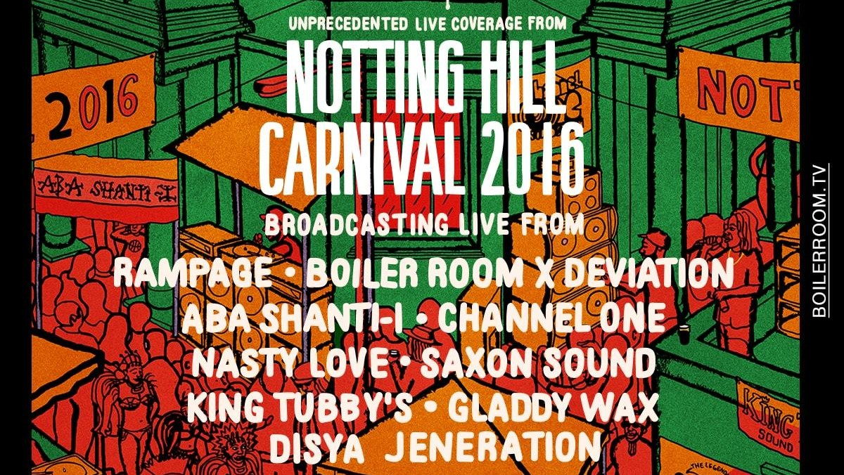 We've Teamed Up with Boiler Room and Deviation to Give You a Taste of Notting Hill Carnival