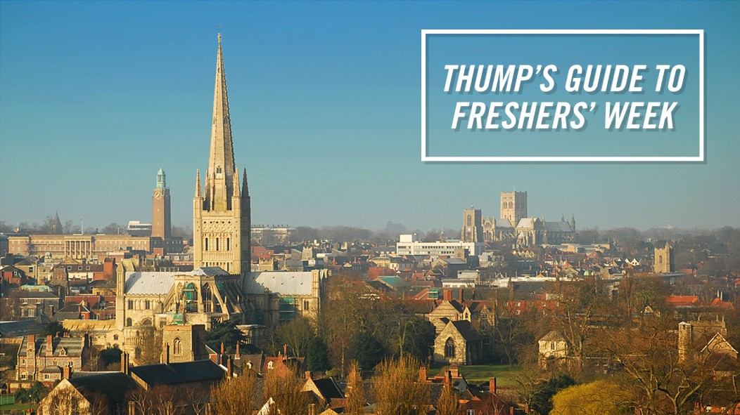 The THUMP Freshers' Guide to Norwich