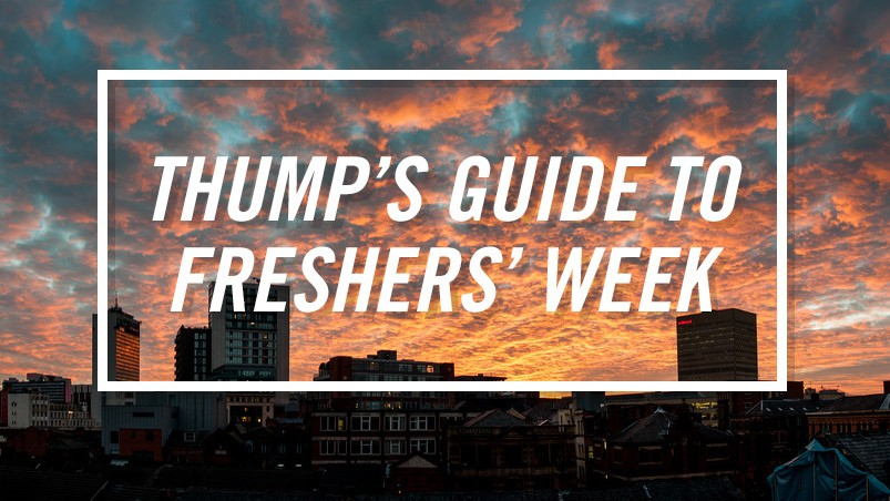 The THUMP Freshers' Guide to Manchester