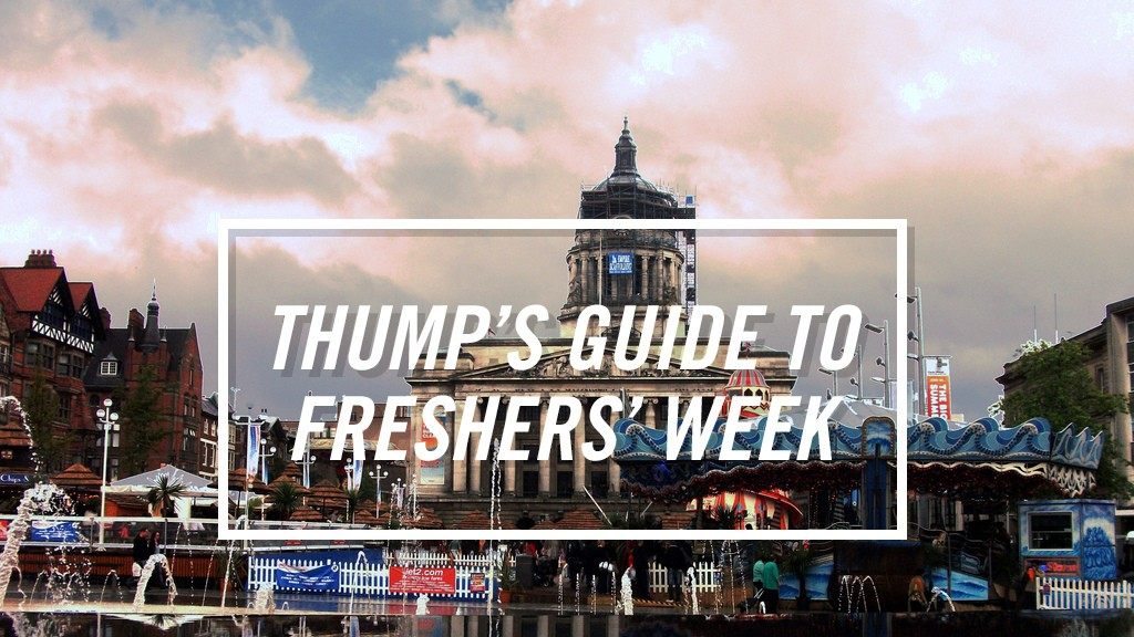 The THUMP Freshers' Guide to Nottingham