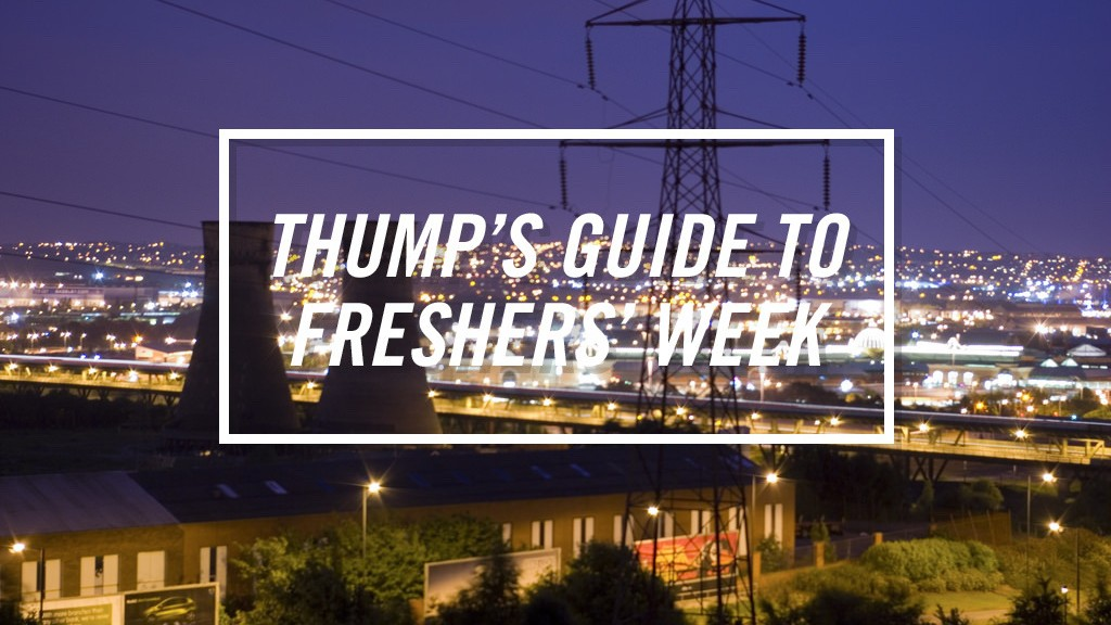 The THUMP Freshers' Guide to Sheffield