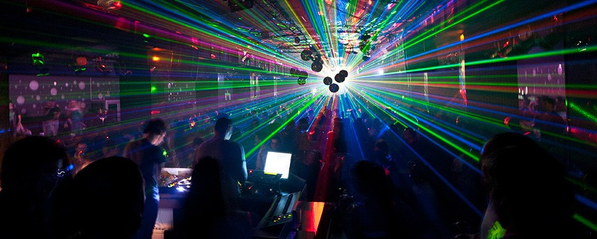 A History of the Laser in Dance Music