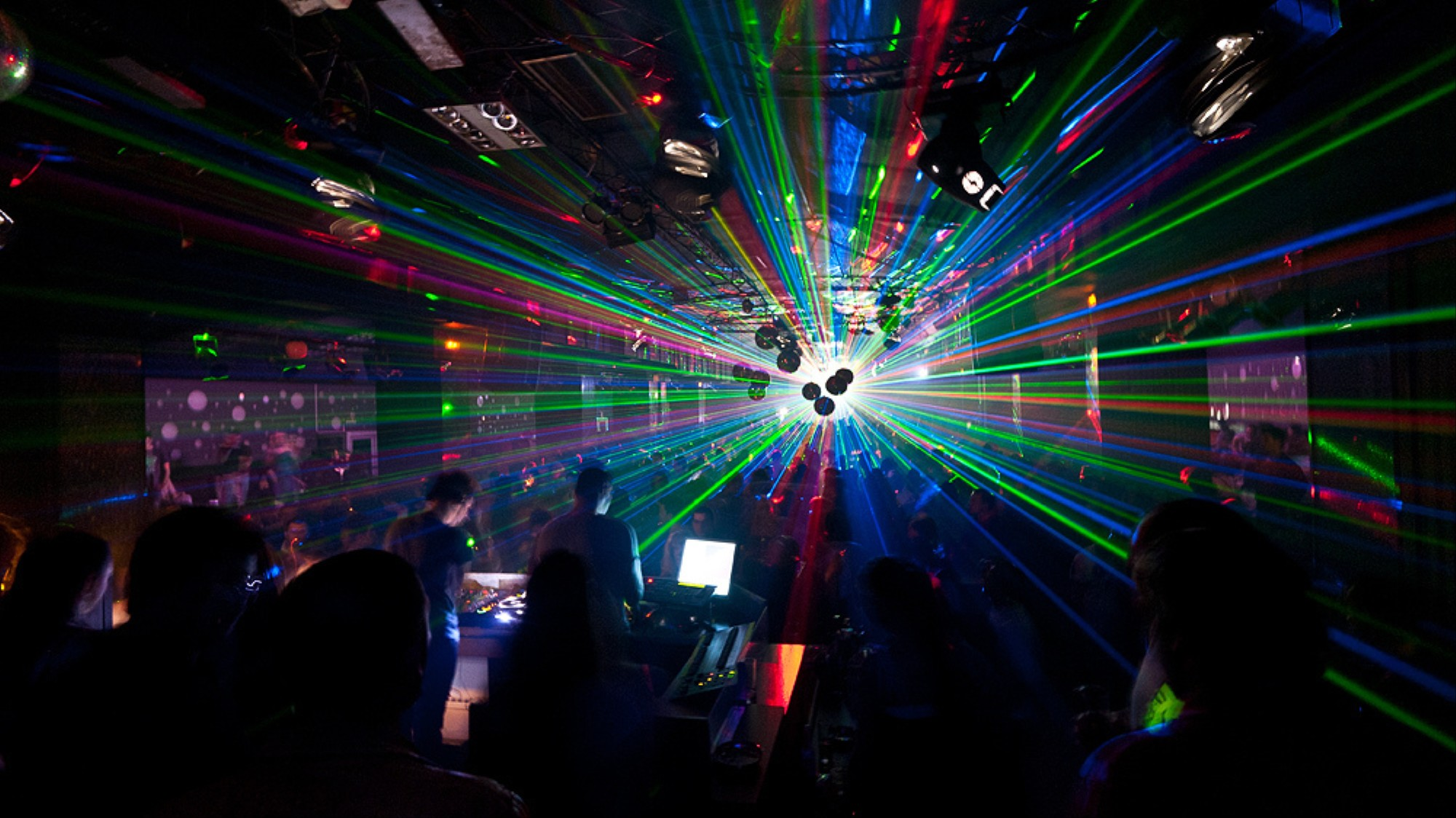 A History of the Laser in Dance Music - VICE