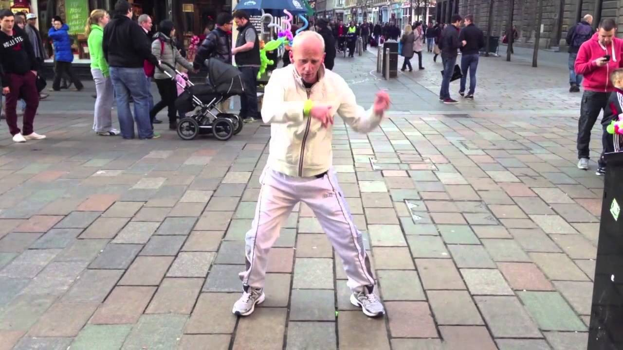 Unraveling the Mystery Behind Glasgow City Centre's 'Silent Raver'