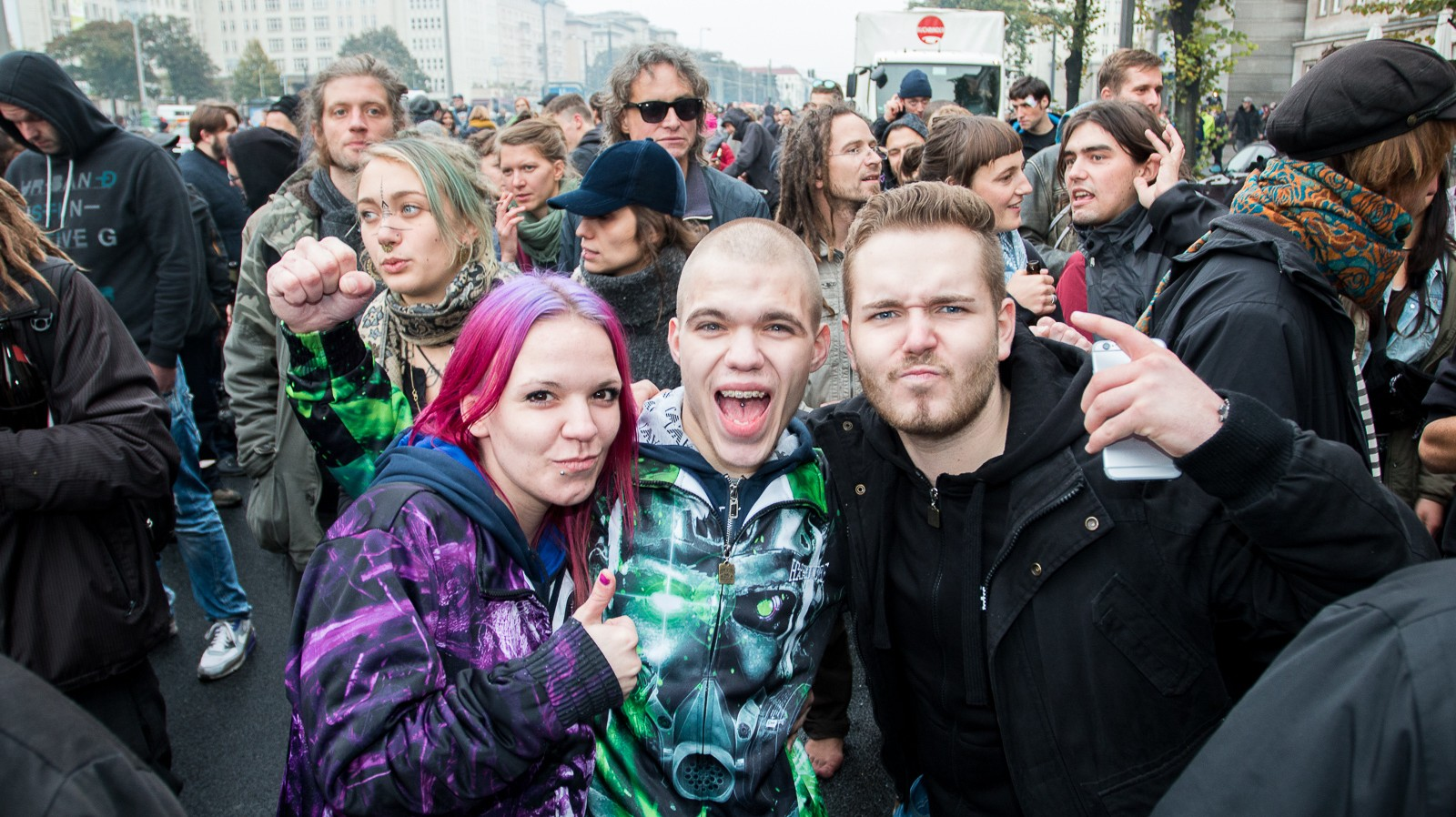 Meet the People of Fuckparade, the Street Festival in Berlin that Brought Us Techno Viking