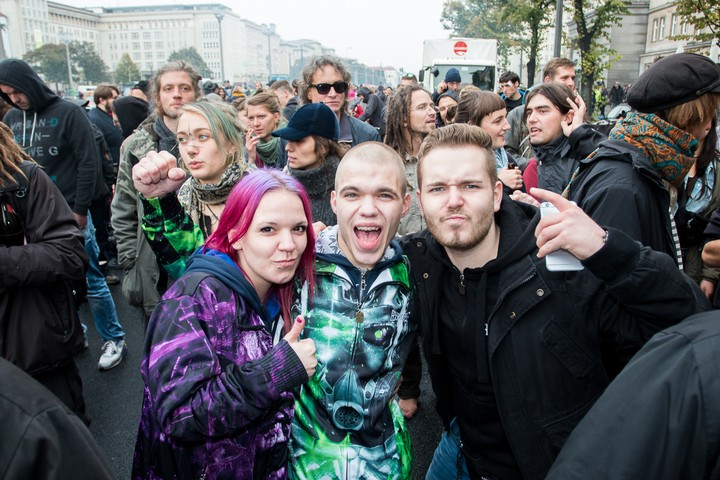 Meet the People of Fuckparade, the Street Festival in Berlin that Brought Us Techno Viking - VICE