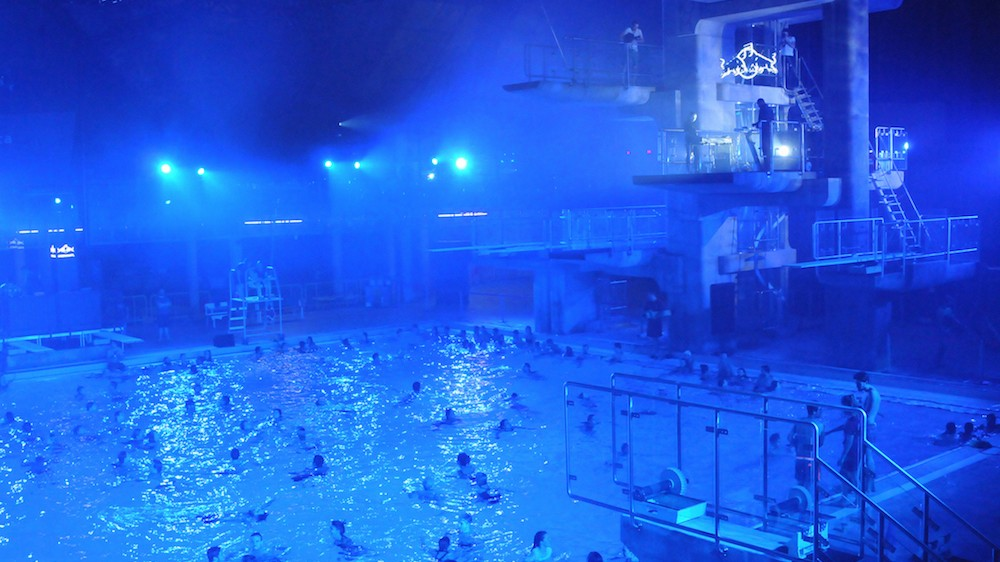 Montreal's Olympic Pool Was Turned Into an Electro-Techno Oasis for One Night Only