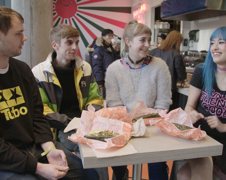 We Made Sushi Burritos with Kero Kero Bonito and Discussed Their Jubilant Debut Album